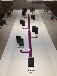 iPhone History at Apple Museum
