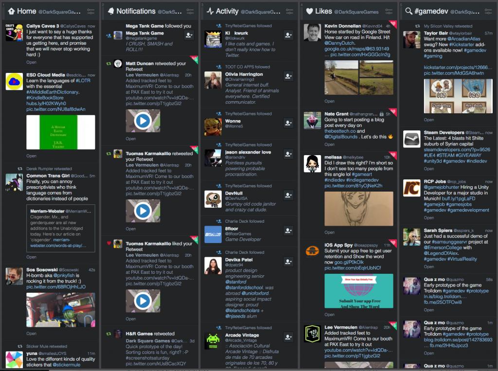 TweetDeck - A Twitter Client