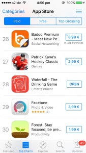 Waterfall - The Drinking Game in top Paid apps